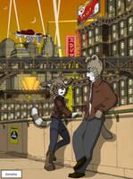 Hive City of the Atomic Era by dan338