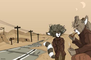Desert of solitude by dan338