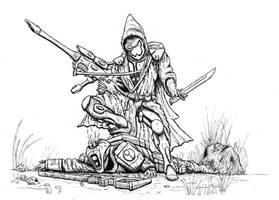 Eldar vs Tau by ridontknow