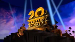 20th Century Animation (On-Screen Logo Mockup)