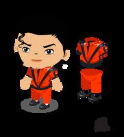 ameba pico(pigg)  MJ avatar by DaveHedmark