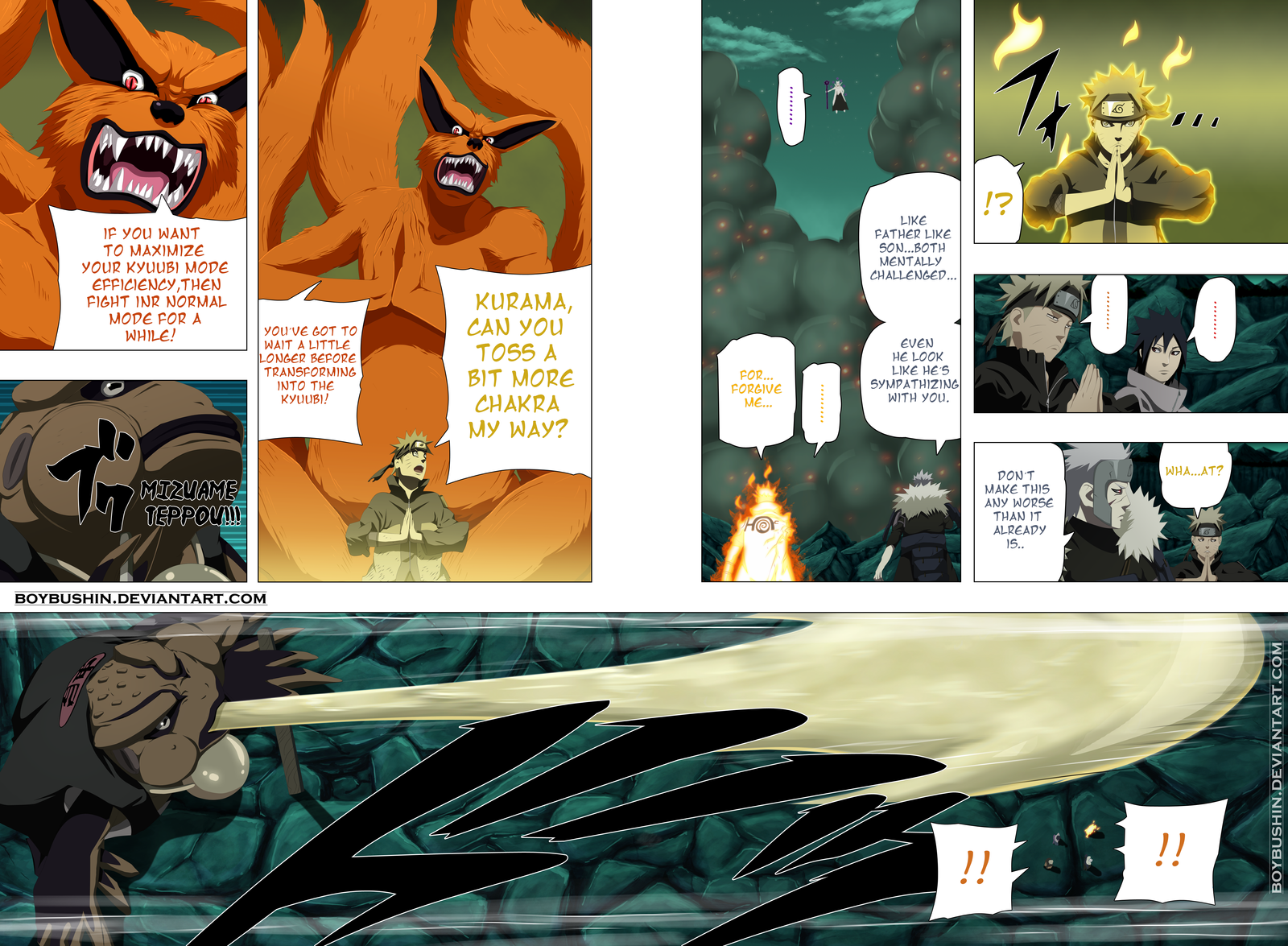 Naruto 642 Page 06-07 Project MangArtistColor by BoyBushin