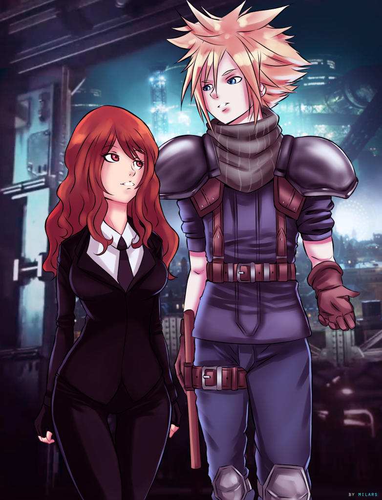 Art Commission Final Fantasy by MilarS