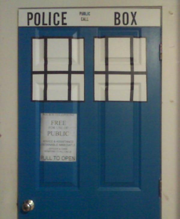 TARDIS Bedroom Door By Huxaiu On DeviantArt