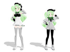 MMD lat macne: Nana+Petite by midnighthinata