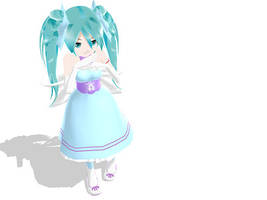 MMD Sweet Lolita Miku by midnighthinata