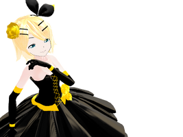 MMD Rin: Daughter of Evil by midnighthinata