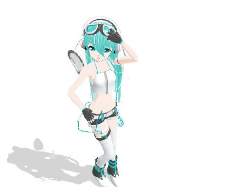 MMD Untouchable Miku Download by midnighthinata