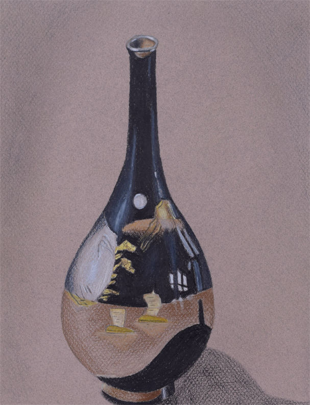 Black Vase by Kozmalia