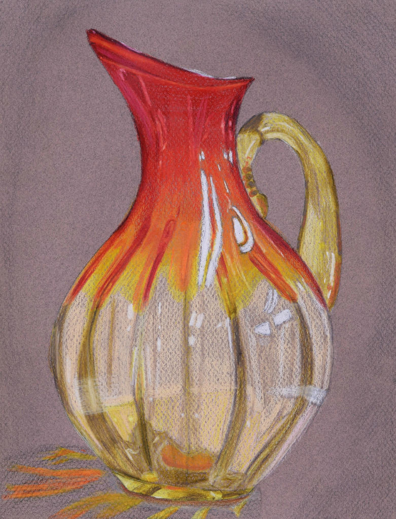 Red Vase by Kozmalia
