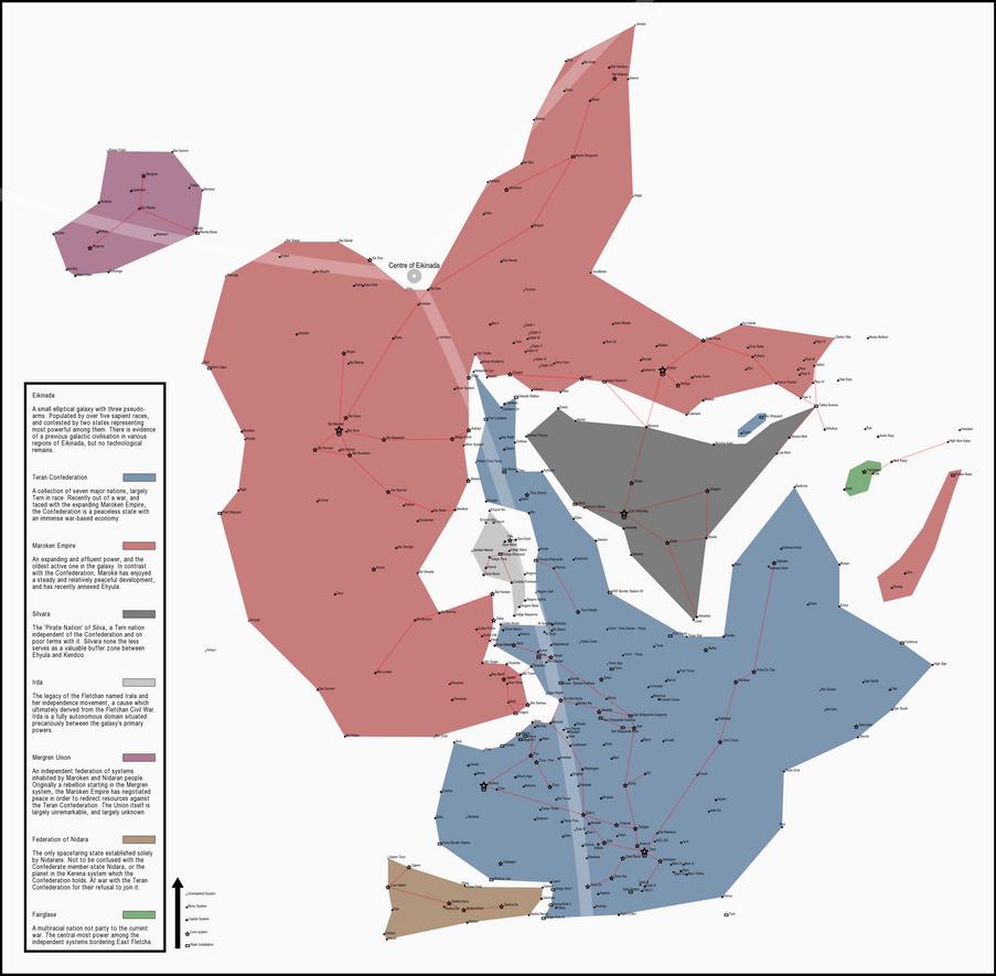 GW - Political Map of Eikinada - Circa 45,000AK by Hotaru-Suzume