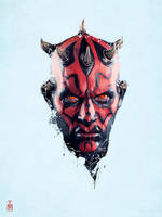 star wars - Darth Maul by tashamille