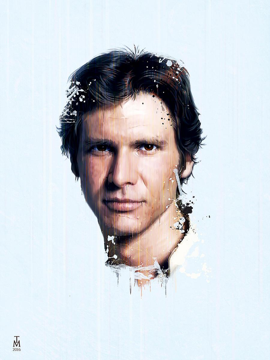star wars - Han Solo by tashamille