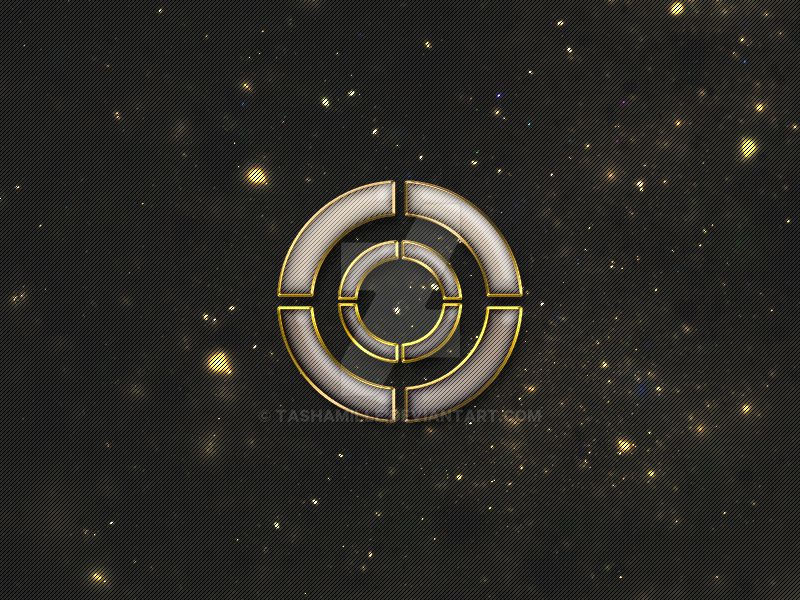 Futuristic Metal Logo by tashamille