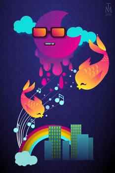 Neon Poster City