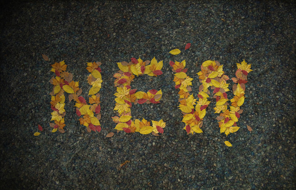 Autumn Leaves Text Effect