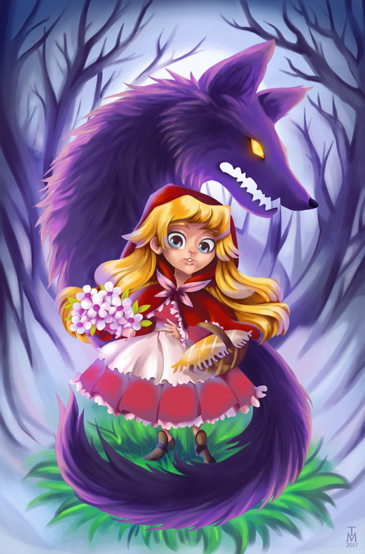 Little Red Riding Hood by tashamille