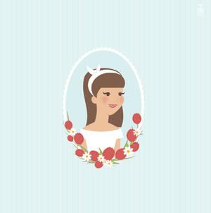 Vintage Spring Portrait -  brown-haired by tashamille