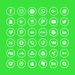 Icons set vol 3 by tashamille