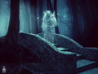 swtor - Darth Marr Force Ghost by tashamille