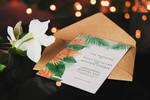 Tropical Wedding Invite by tashamille