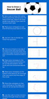 Tutorial - How to Draw a Soccer Ball