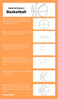 Tutorial - How to Draw a Basketball