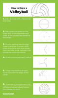 Tutorial - How to Draw a Volleyball