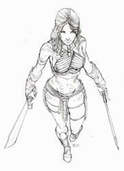 Princess of Mars - Dejah Thoris by Harpokrates