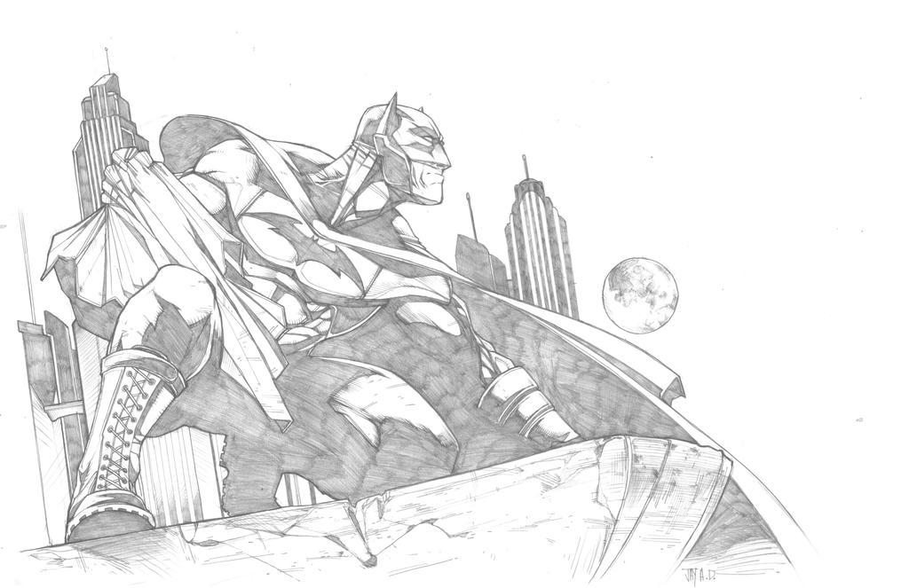 Dark Knight by Harpokrates