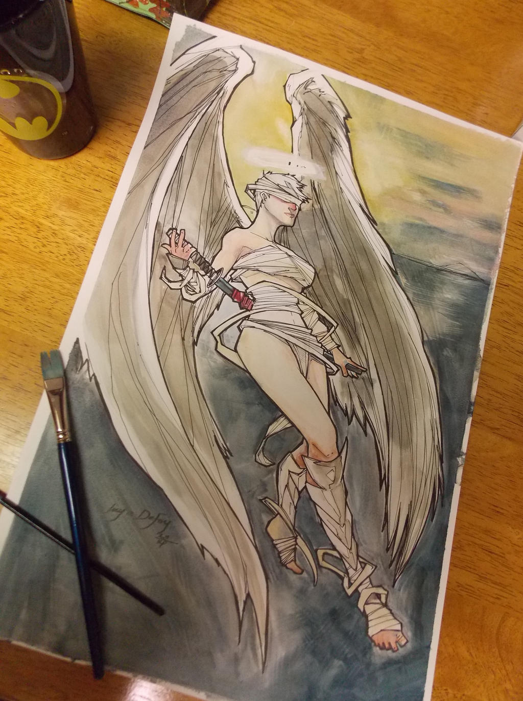 Angel Commission by Harpokrates