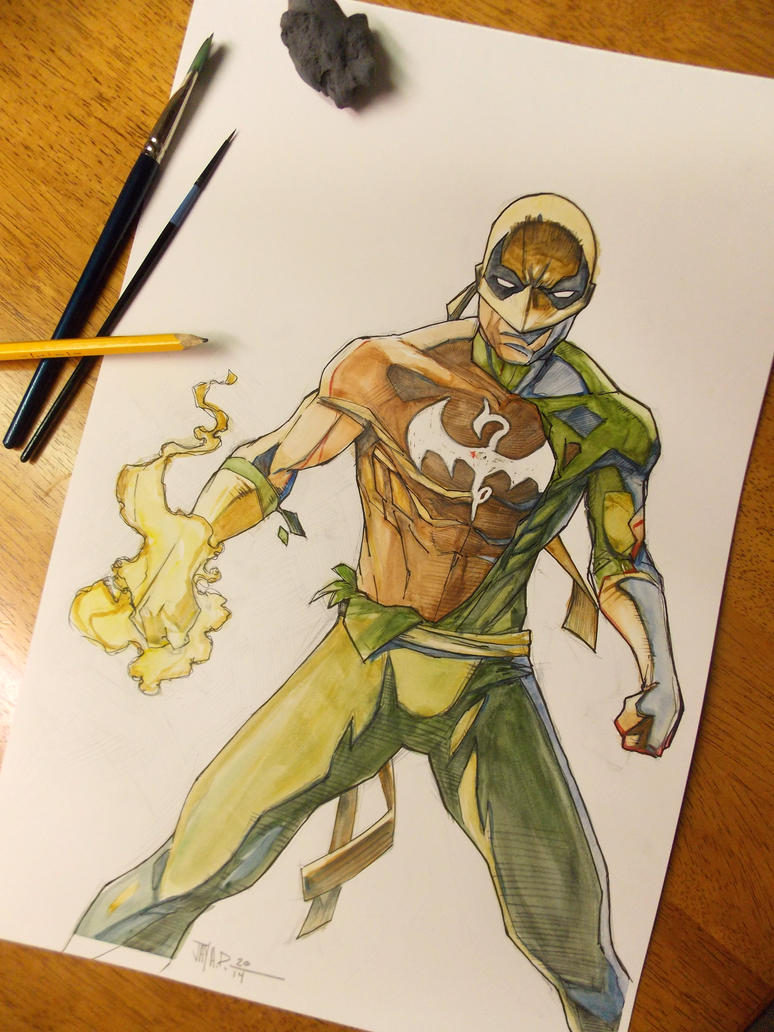 What the immortal iron fist 23