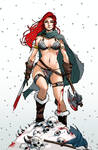 Red Sonja  ~ She Devil with a Sword... and Ax.