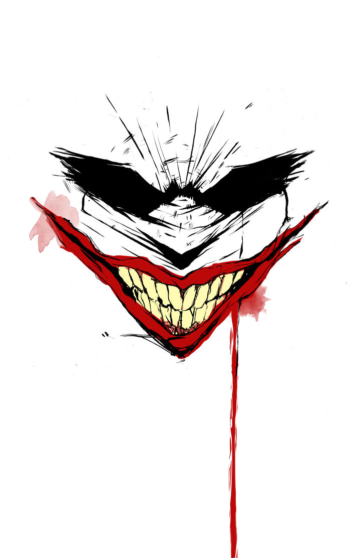Joker Face By Harpokrates