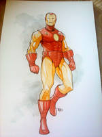 Classic Iron Man by Harpokrates