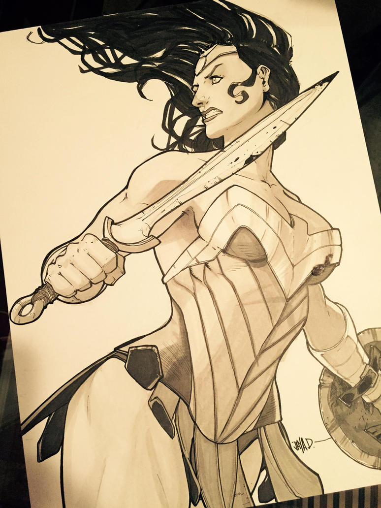 Wonder Woman ~ Battle Goddess by Harpokrates