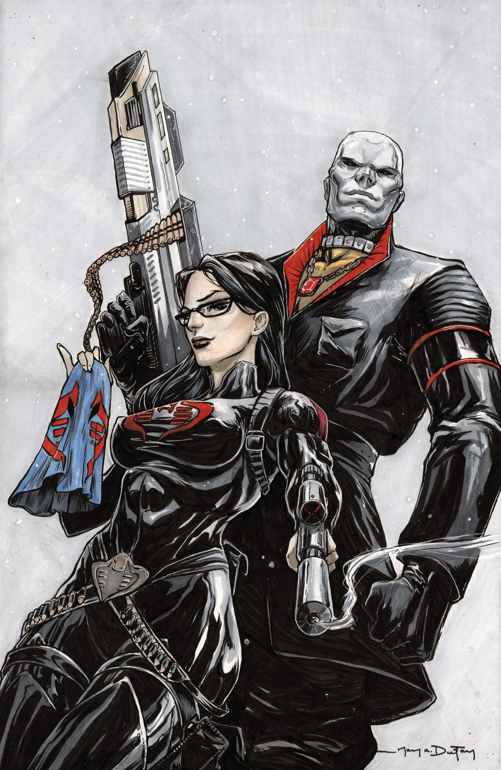 Baroness And Destro By Harpokrates On Deviantart