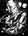 Galactus and Silver Surfer Commission