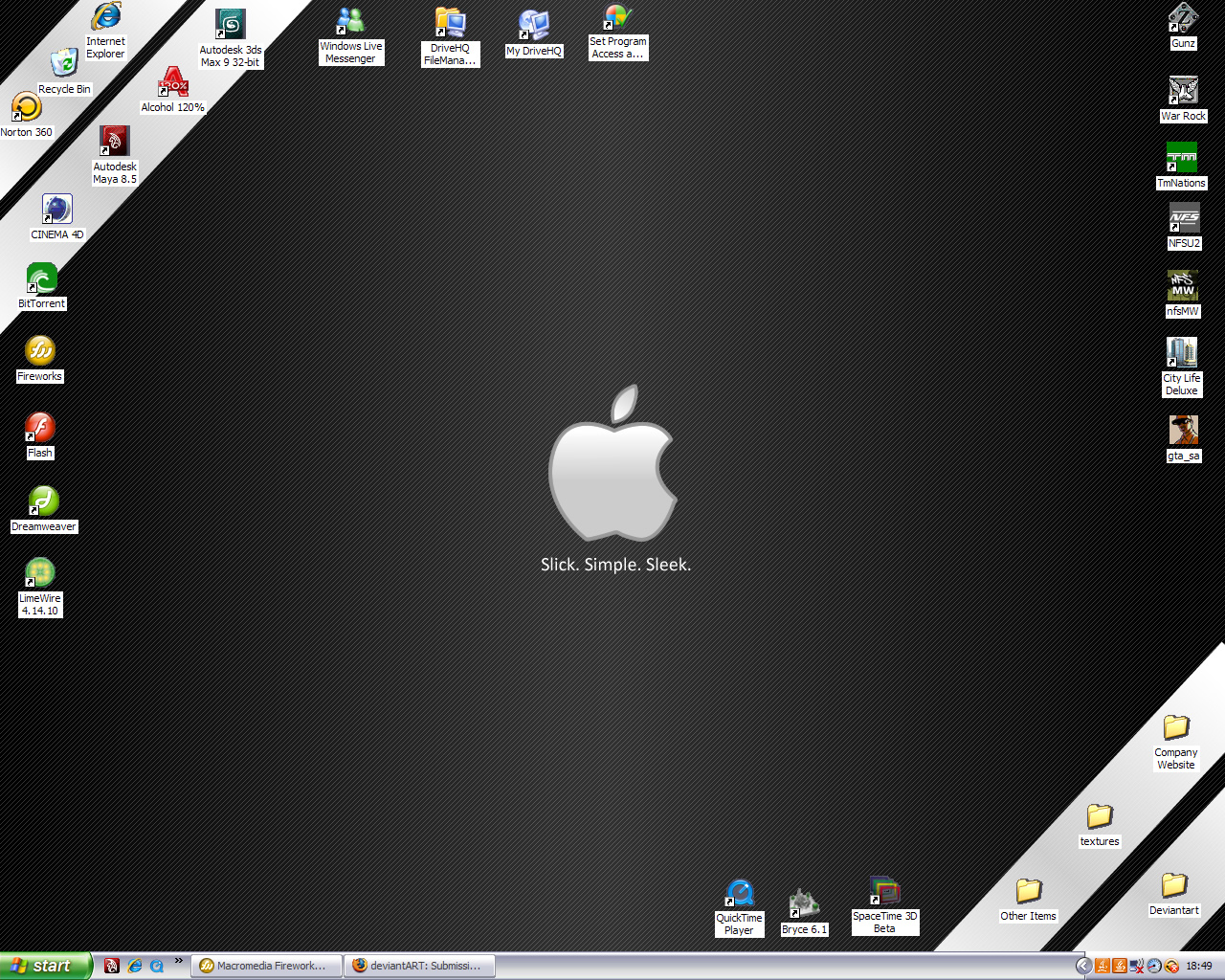 Desktop Screenshot by jamie-lewis