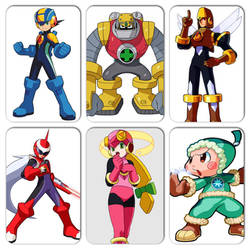 You Will Know Our Names 1: Team Megaman 1 by actioncatcher