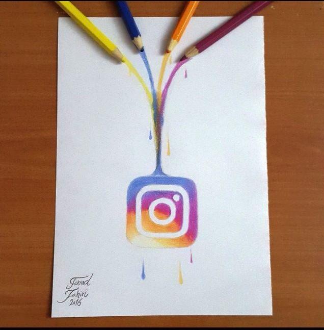 Creative New Instagram Logo By Fouadzahiri