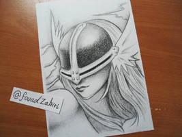 angewomon sketch by fouadzahiri
