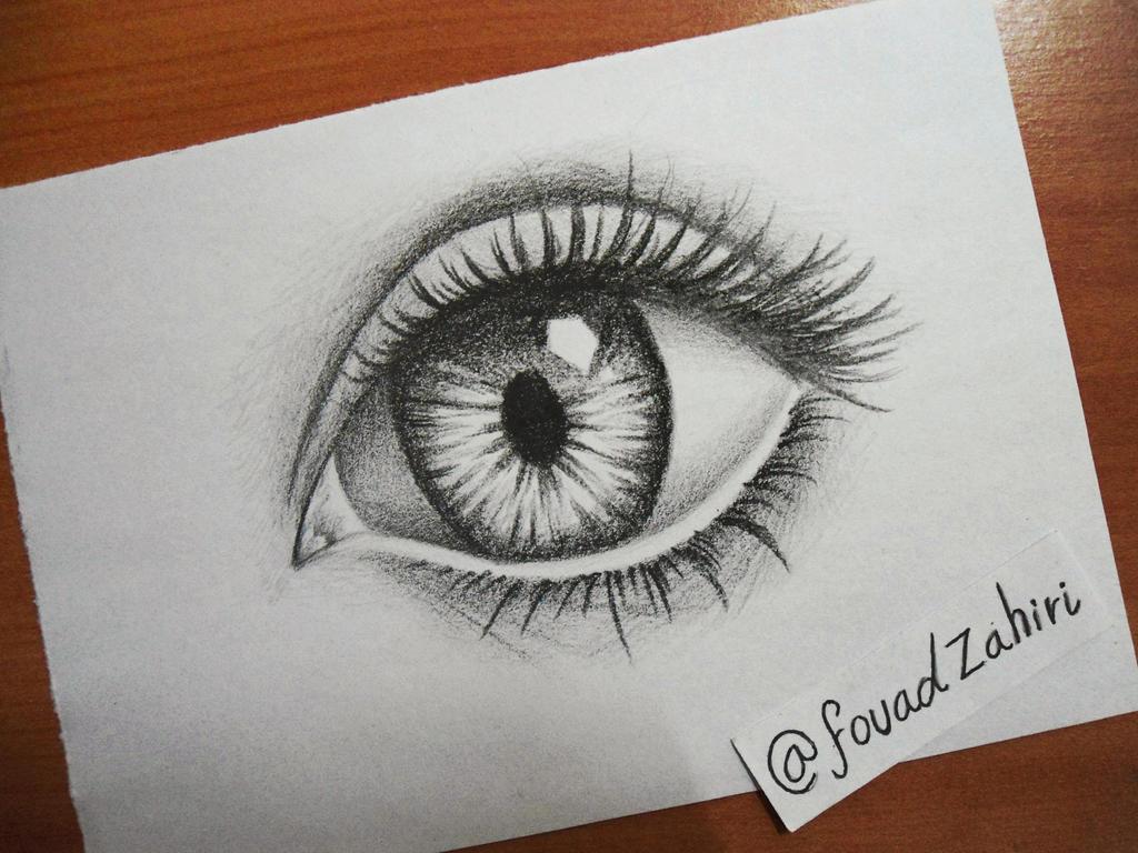 eye drawing by fouadzahiri