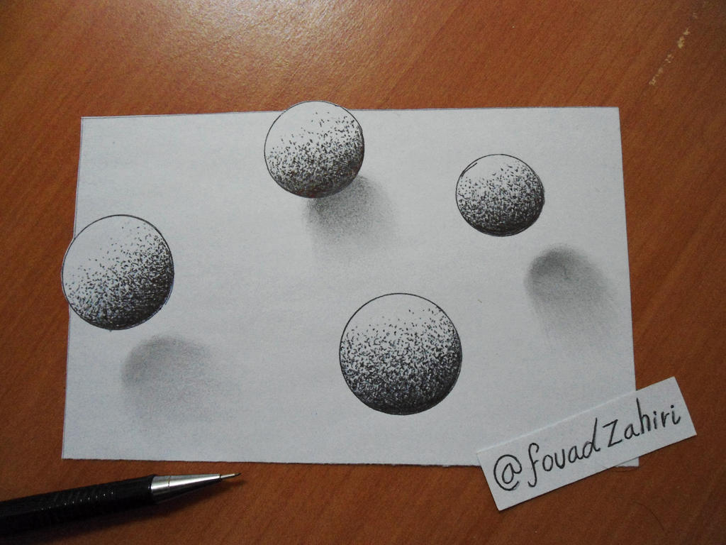 quick 3d drawing by fouadzahiri