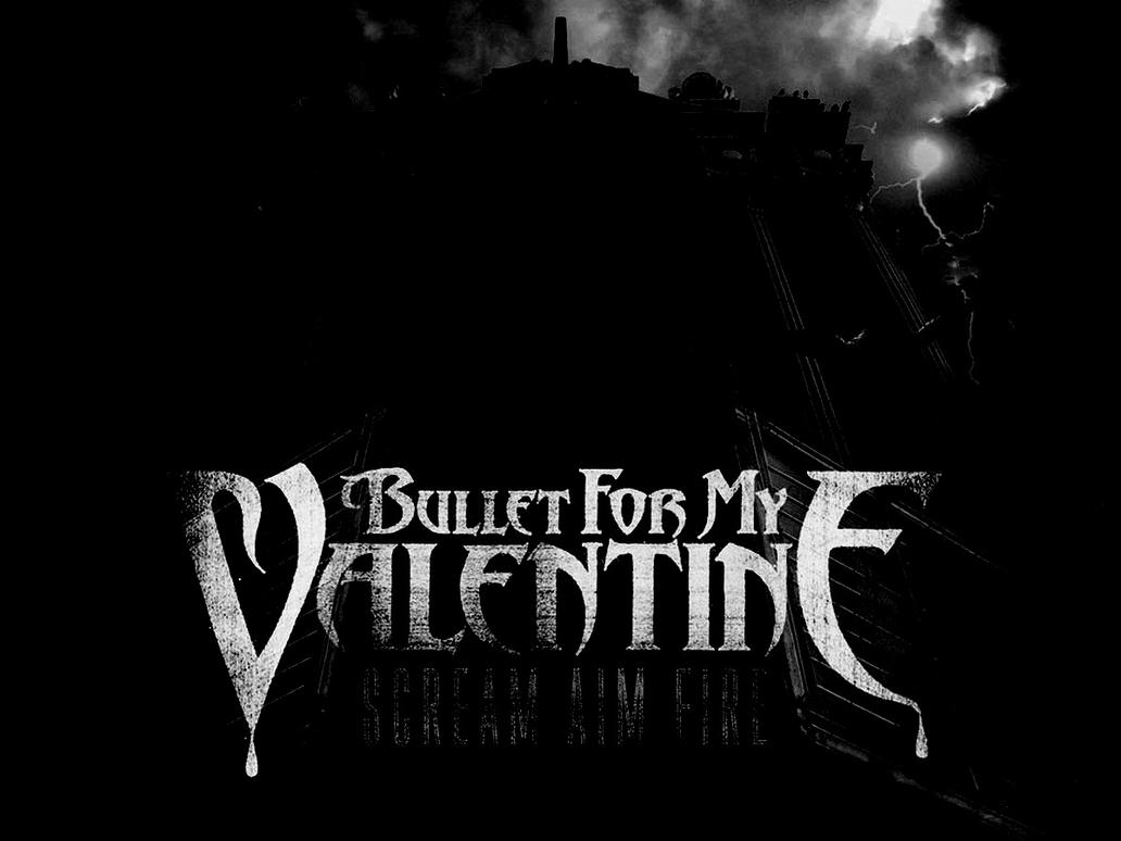 bullet for my valentine wallpaper scream aim fire