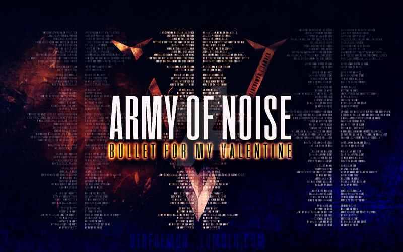 Army Of Noise Wallpaper - BFMV by snowyblackrose