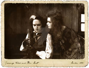 Sweeney Todd and Mrs. Lovett (old photo style)
