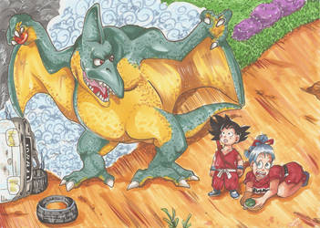 Dragon Ball Adventure by Paizy