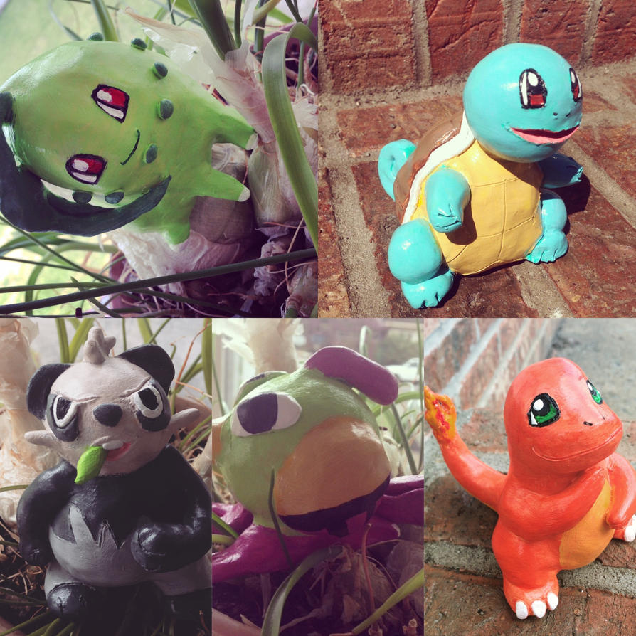Pokemon Clay Figures 1 by Paizy