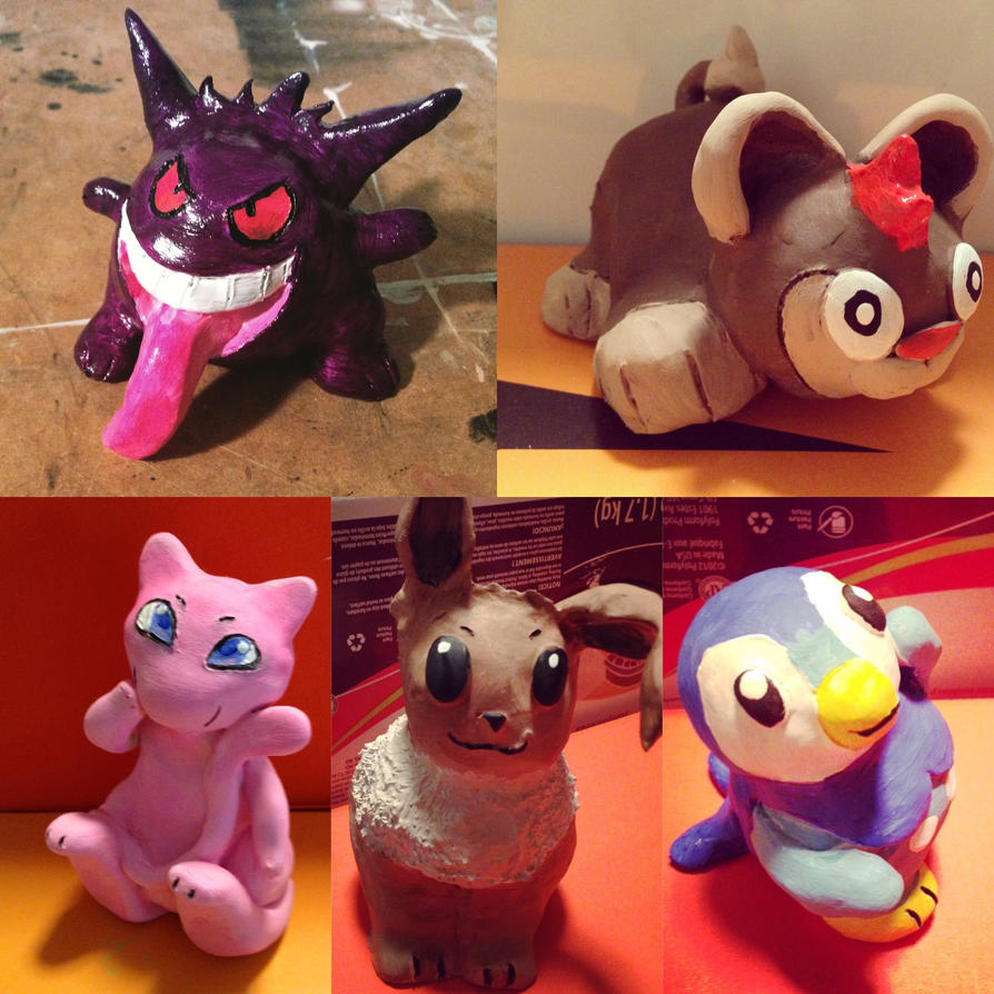 Pokemon Clay Figures 2 by Paizy